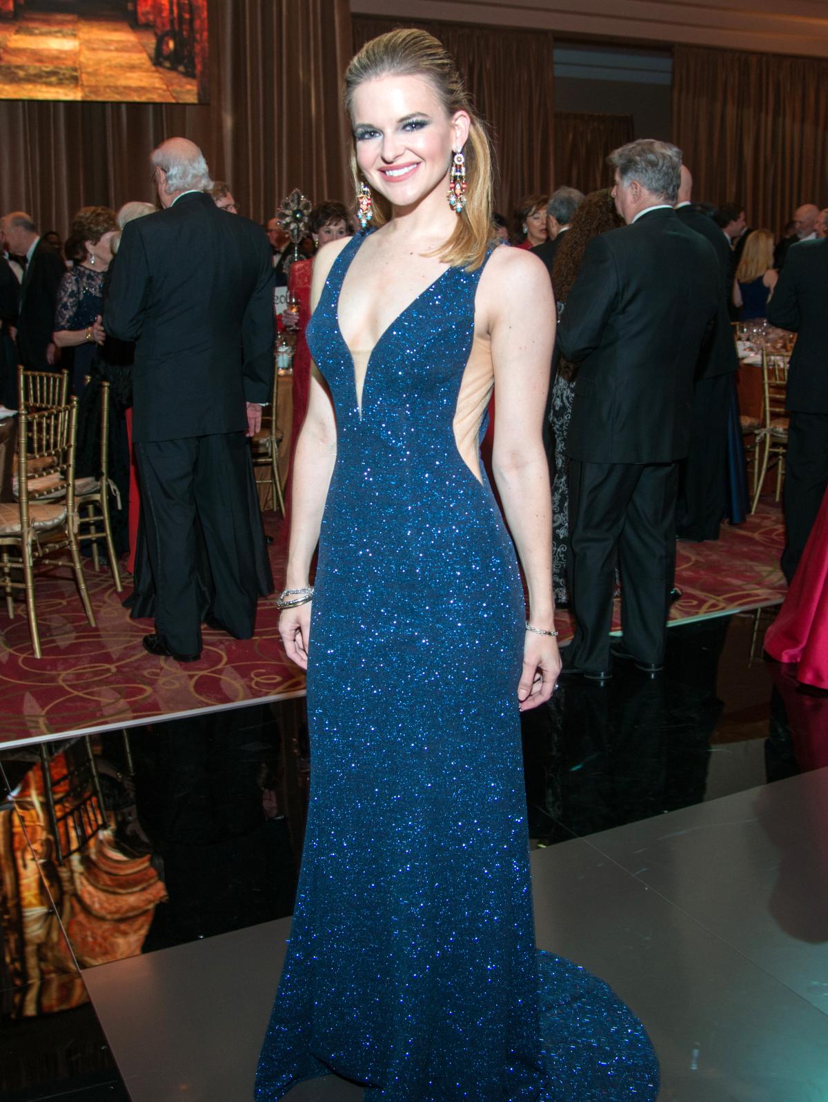 Houston, Ballet Ball gowns, Feb 2017, Kimberly Lombardino in  Jovani