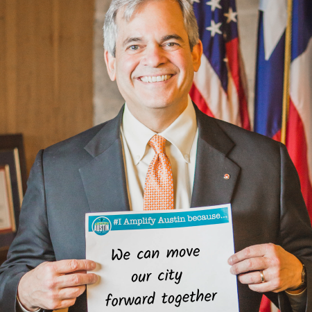 Amplify Austin 2017 Mayor Steve Adler