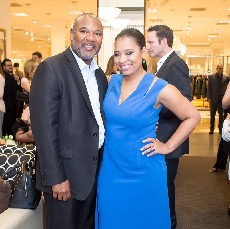 Keith McWilliams, Shawntell McWilliams at International Mother's Day Soiree Kickoff
