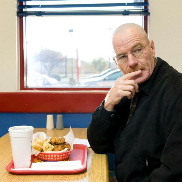 Los Pollos Hermanos Breaking Bad Bryan Cranston Walter White