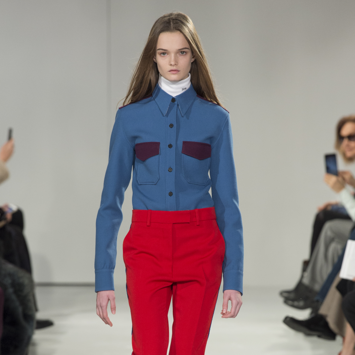 Calvin Klein fall 2017 look 35 women