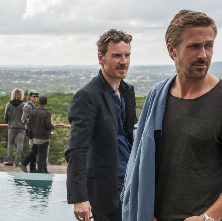 Michael Fassbender and Ryan Gosling in Song to Song