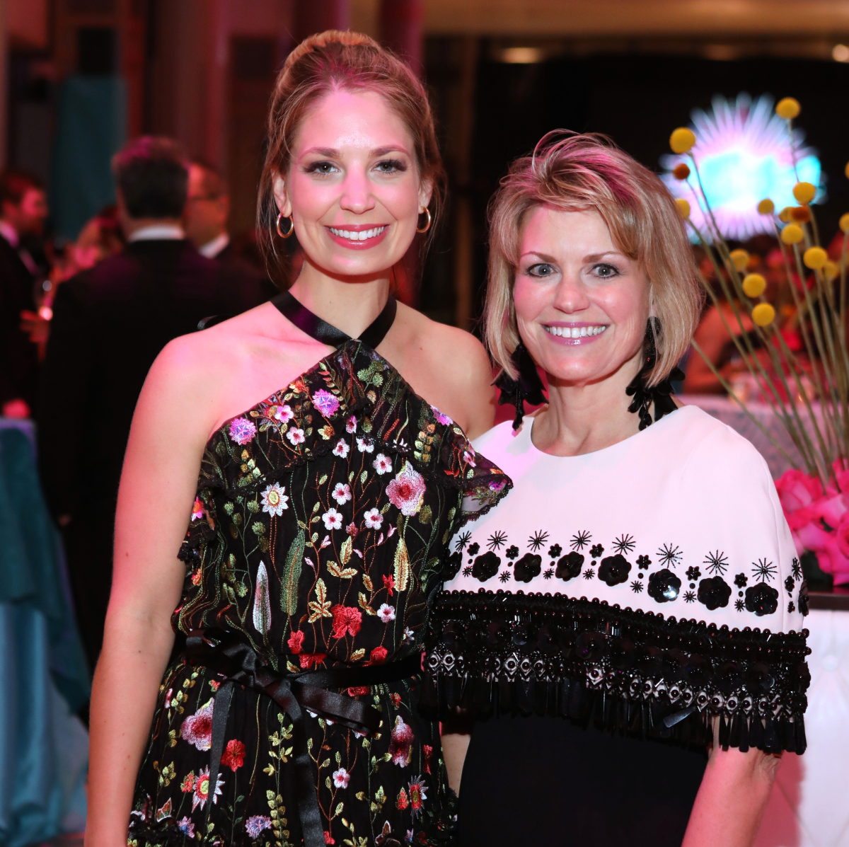 Houston, HMNS Big Bang Ball, March 2017, Elise Lubanko, Kelley Lubanko