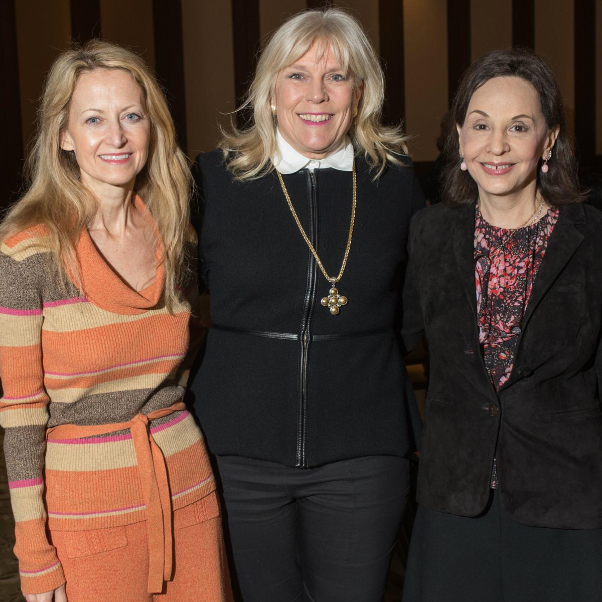 Lynn McBee, Paige Flink, Joanne Teichman