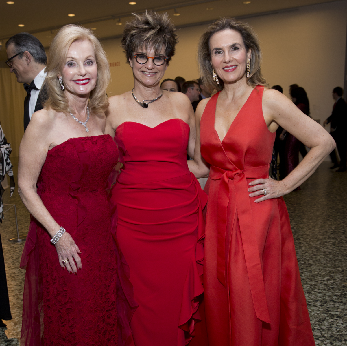 Pat Breen, Mari Carmen Ramirez, Celina Hellmund at Latin American Experience