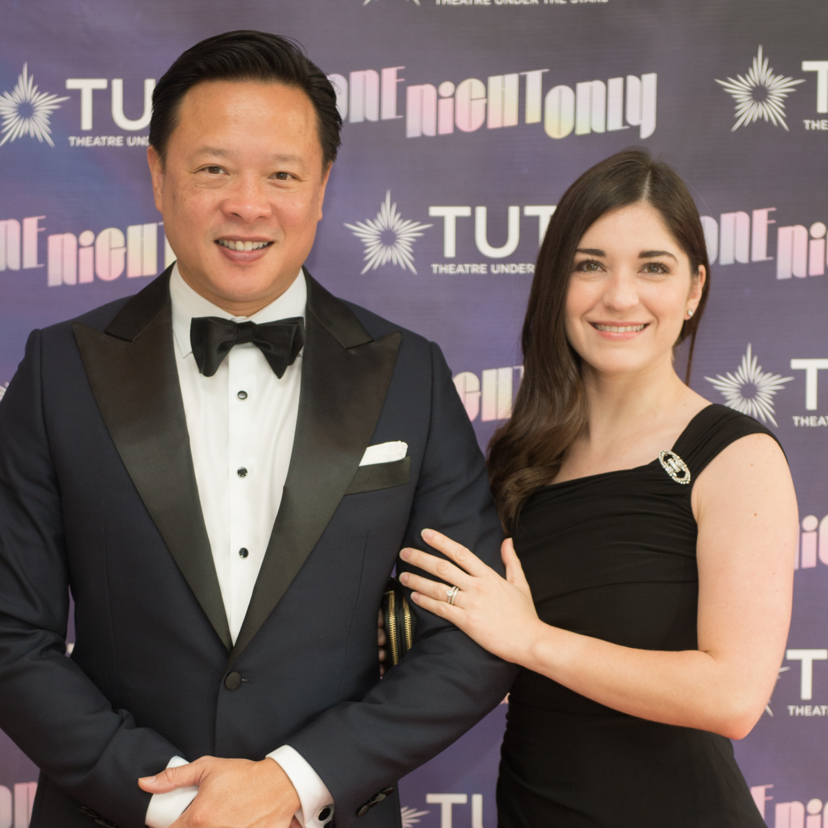 Nick Tran, Vaalerie Tran at 2017 TUTS Dreamgirls Gala