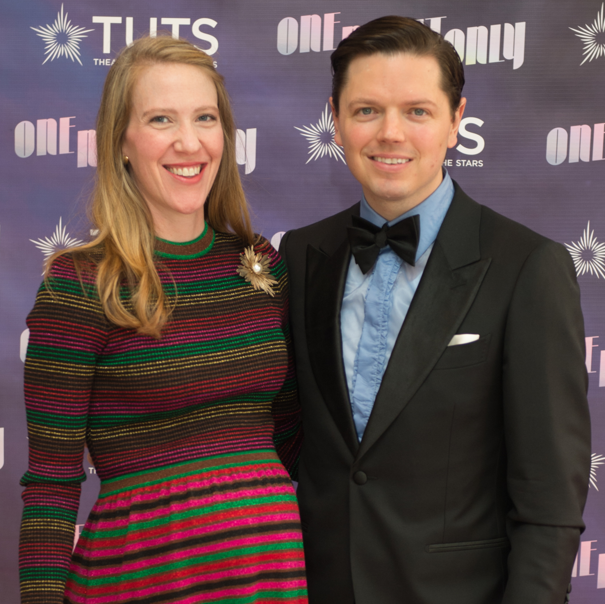 Michelle Phillips and David Peck at 2017 TUTS Dreamgirls Gala