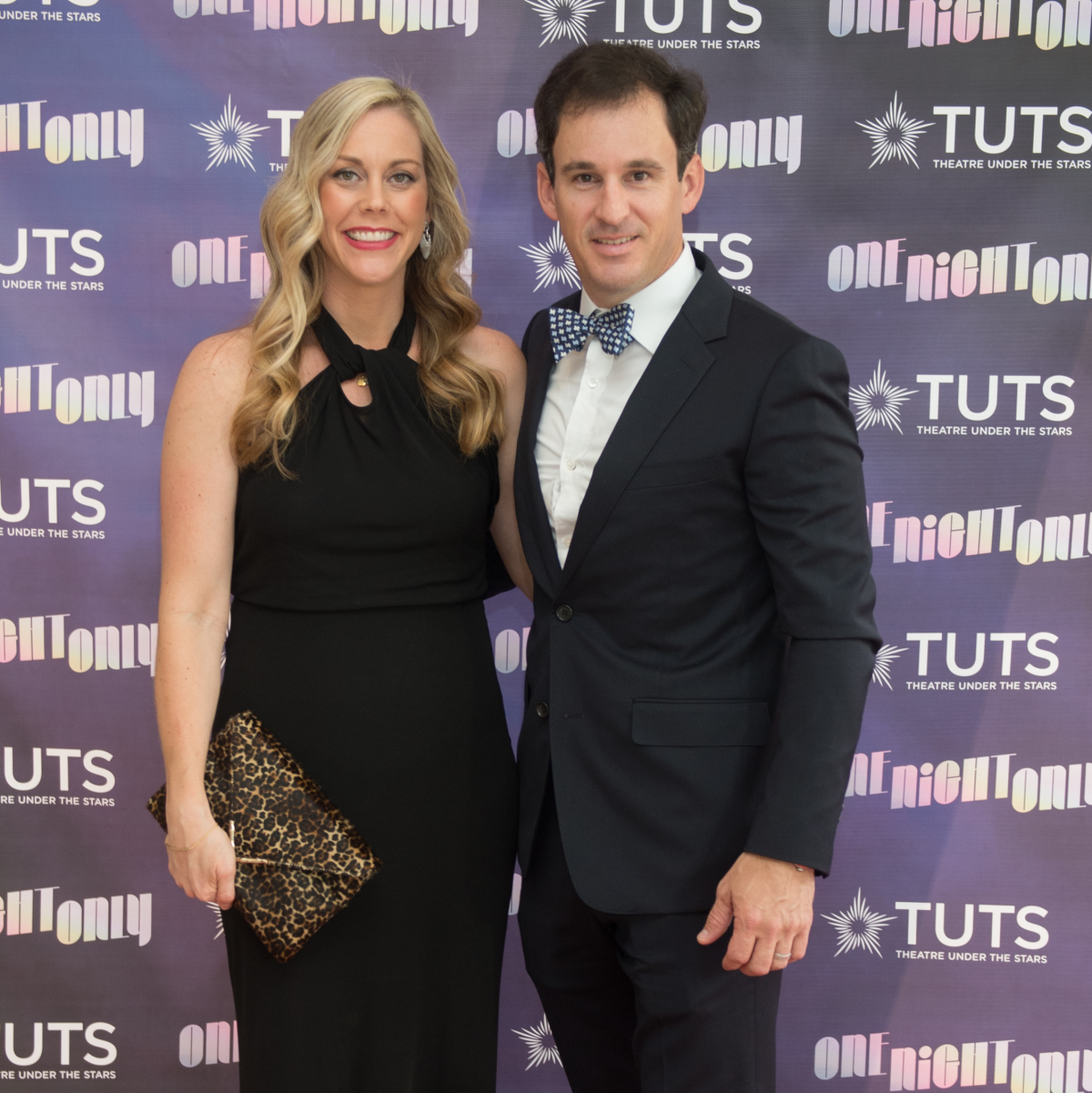 Heather and Shawn Conerly at 2017 TUTS Dreamgirls Gala