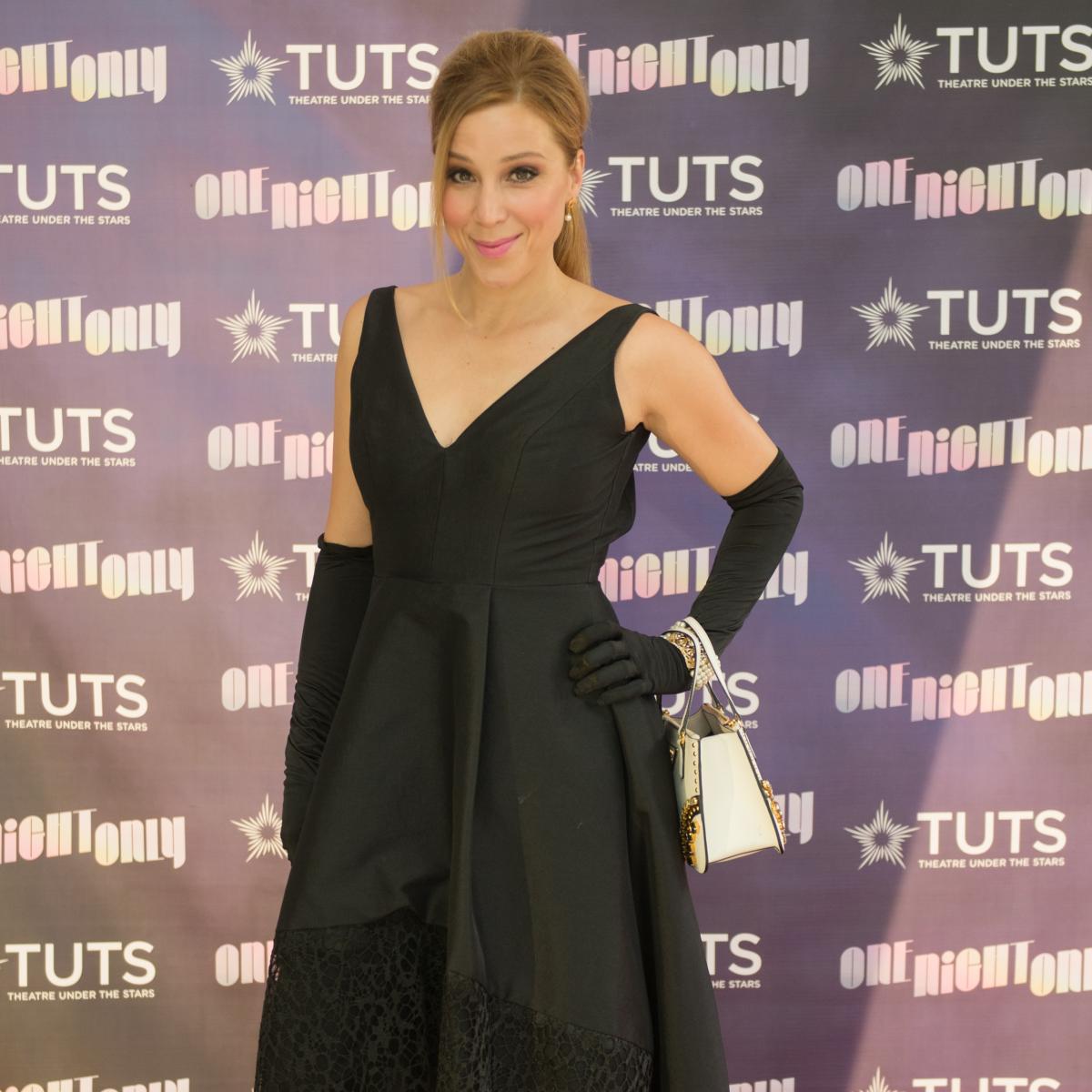 Becky Lythgoe at 2017 TUTS Dreamgirls Gala