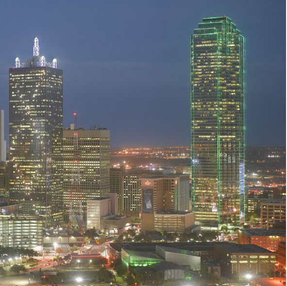 Bank of America Plaza in Downtown Dallas