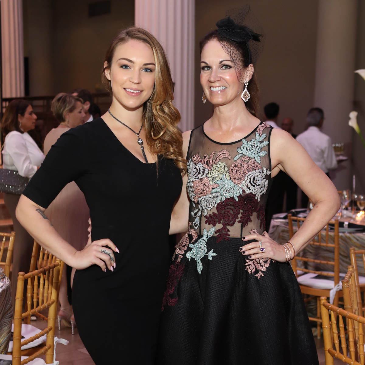 Raquel Fatiuk and Beth Muecke at Stages Gala 2017