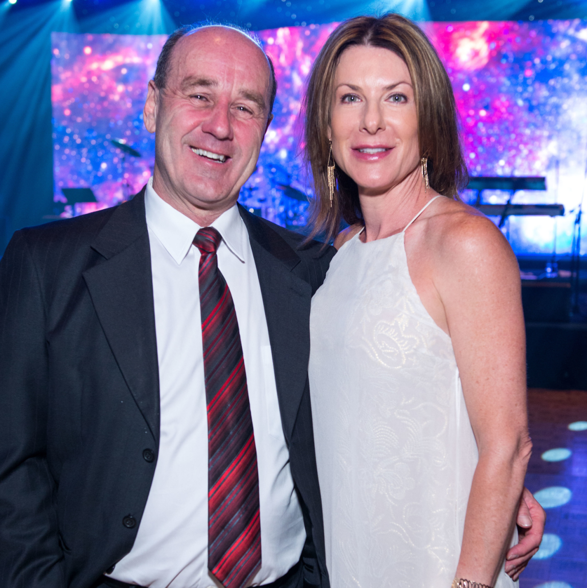 Houston, Space Center Houston Galaxy Gala, April 2017, Anthony Alessi, Ann Parks Stallings