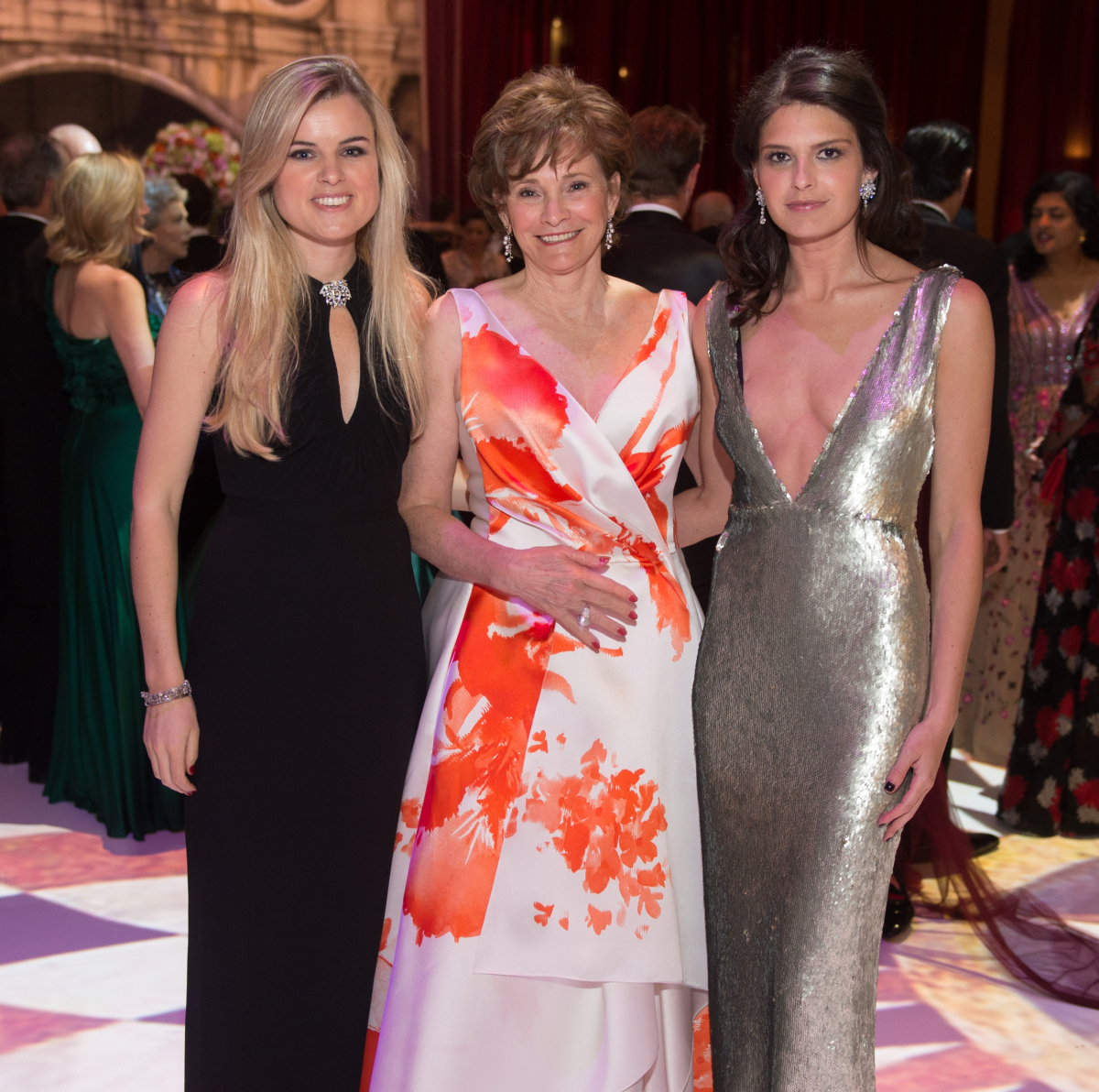 Houston, Houston grand opera ball, April 2017, Alice Delahunt, Bobbie Nau, Reese Lasher