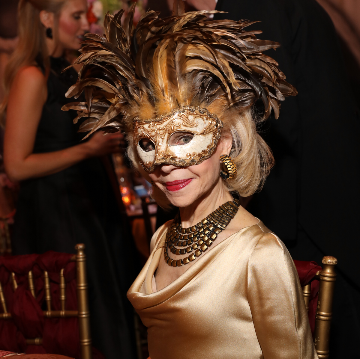 Houston, Houston grand opera ball, April 2017, Lynn Wyatt