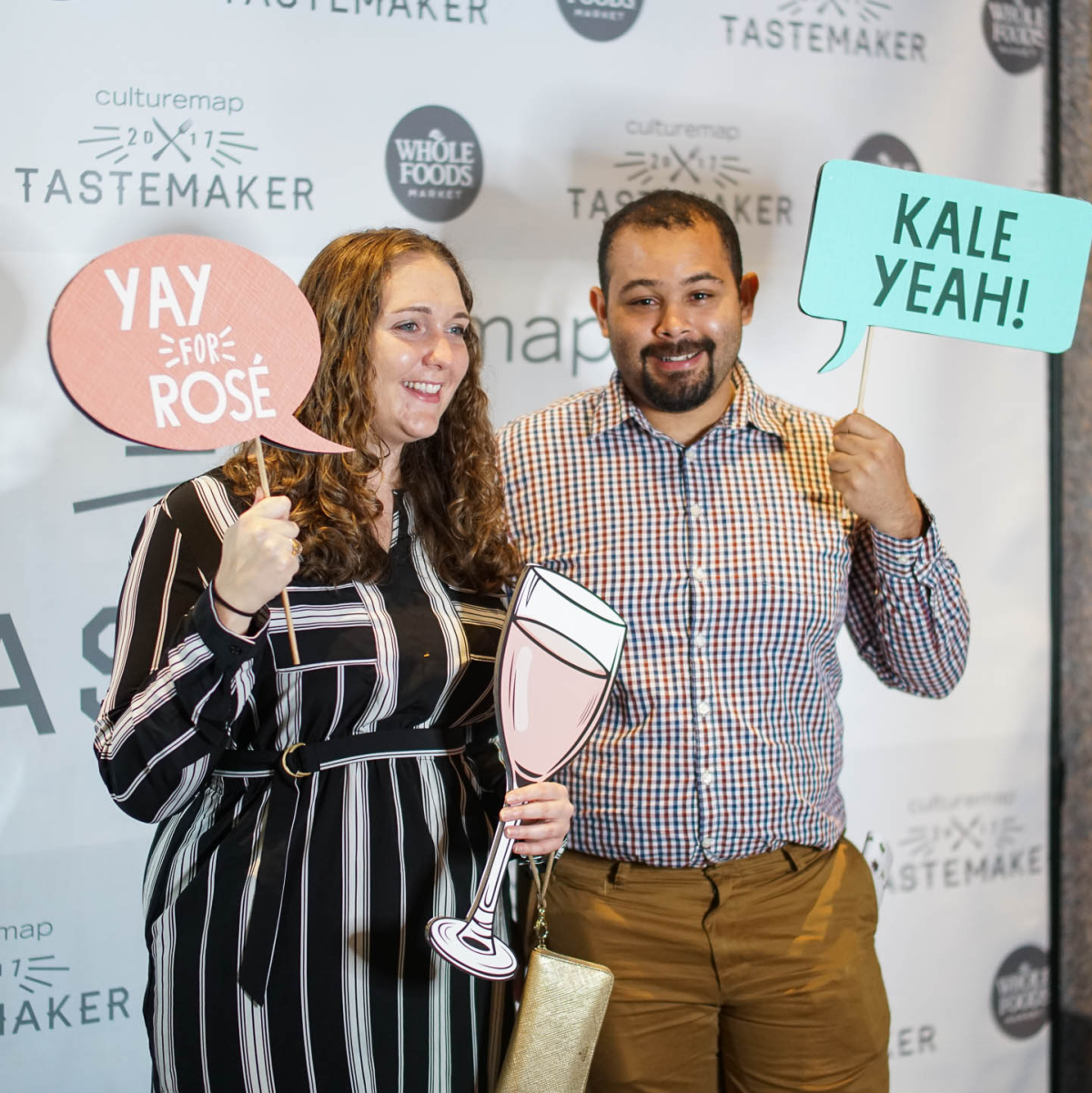 CultureMap Tastemaker Awards 2017 Whole Foods Photo Booth W.H. Harris Marie Smyth