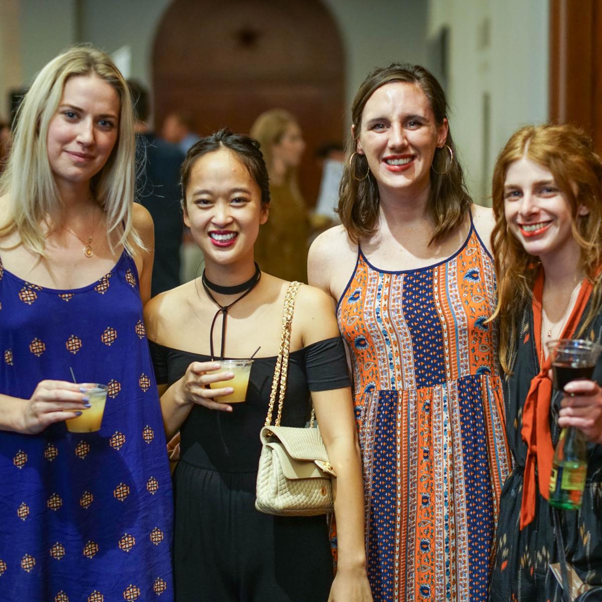 CultureMap Tastemaker Awards 2017 Sarah O'Brien Thien-Y Hoang Melissa Grady Torie Gehrig