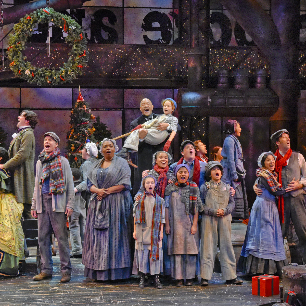 Cast of Dallas Theater Center's A Christmas Carol