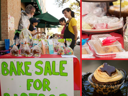 Austin Bakes for West fundraiser bake sale