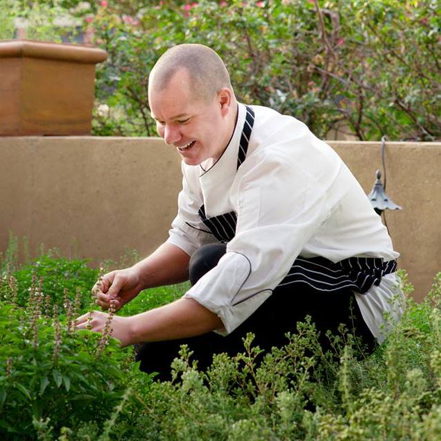 Brian Armstrong at the Pyramid Restaurant