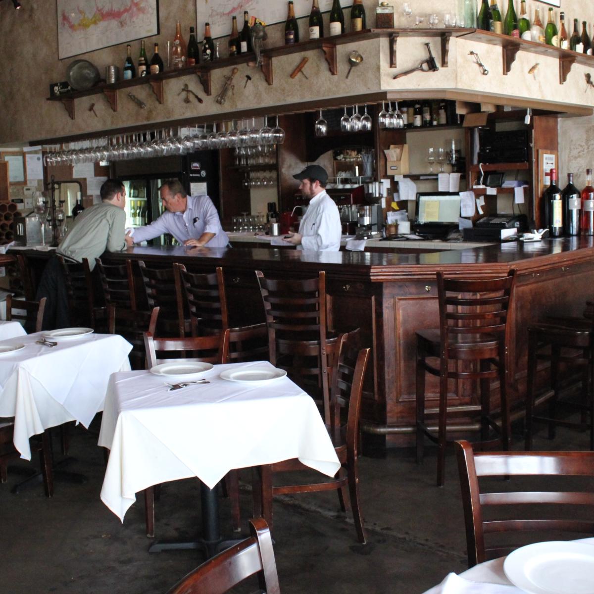 Cafe Rabelais, Interior Bar, June 2012