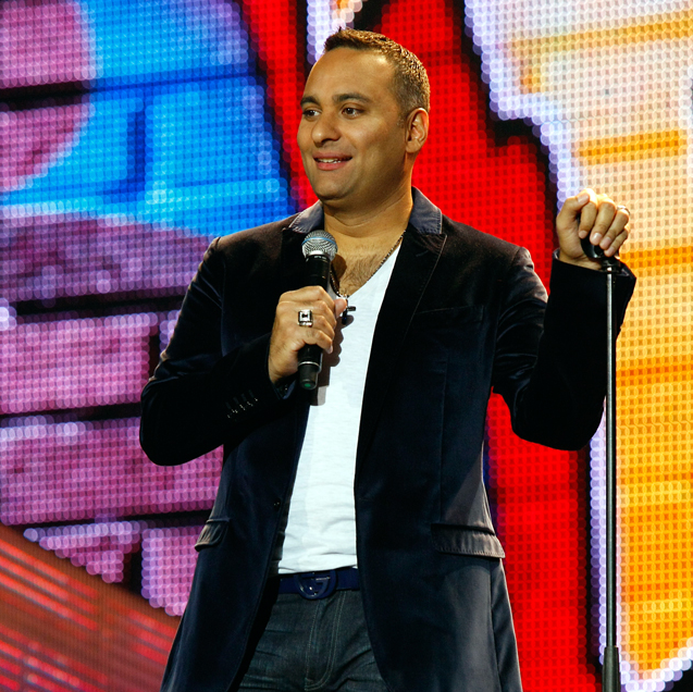 Comedian Russell Peters