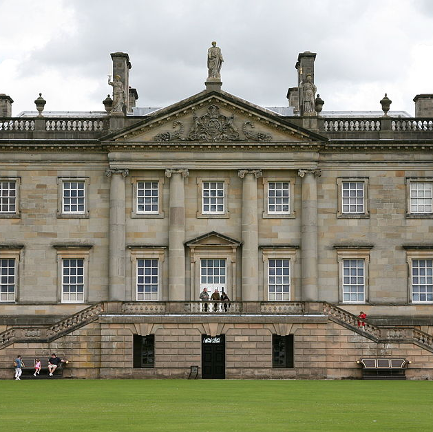 Houghton Hall exterior day