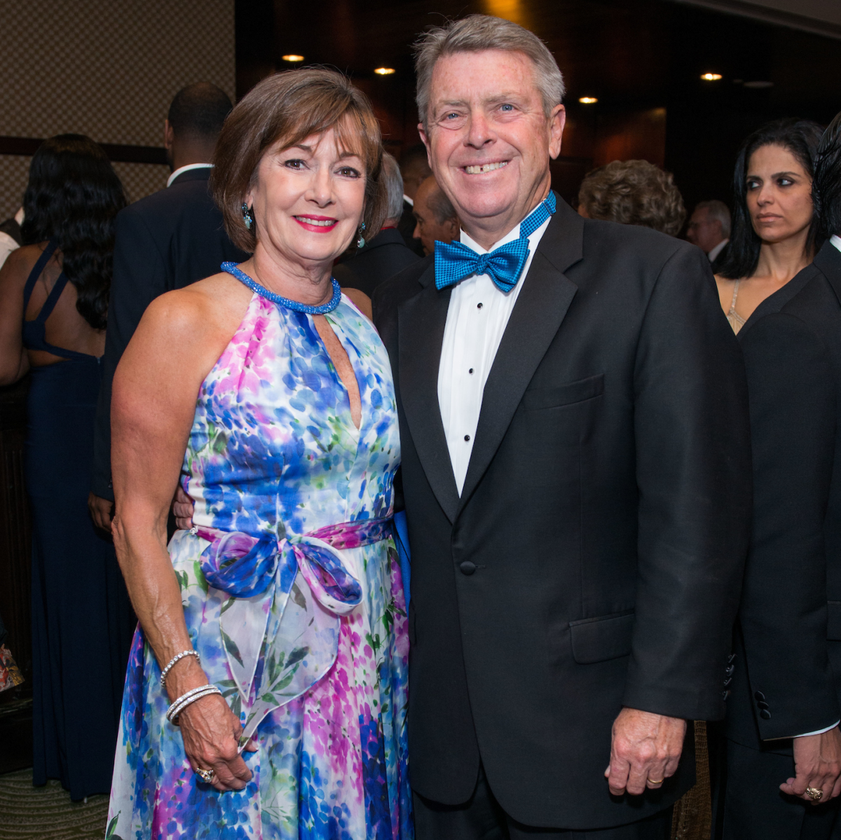 Cathy and Joe Cleary at Memorial Hermann Gala
