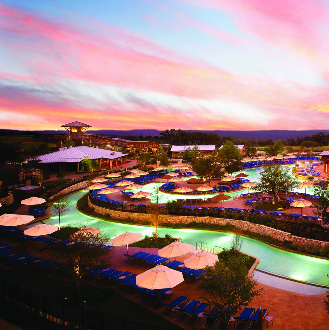 JW Marriott San Antonio Hill Country pool