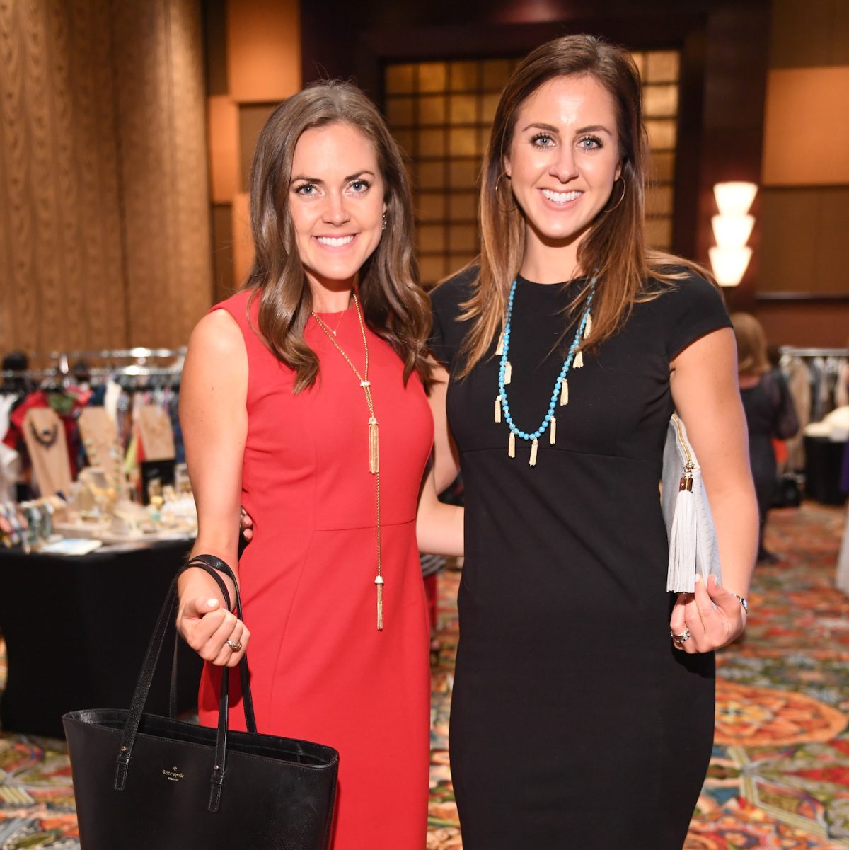 Lauren Paine, Jessica Morrison at Latin Women's Initiative Luncheon