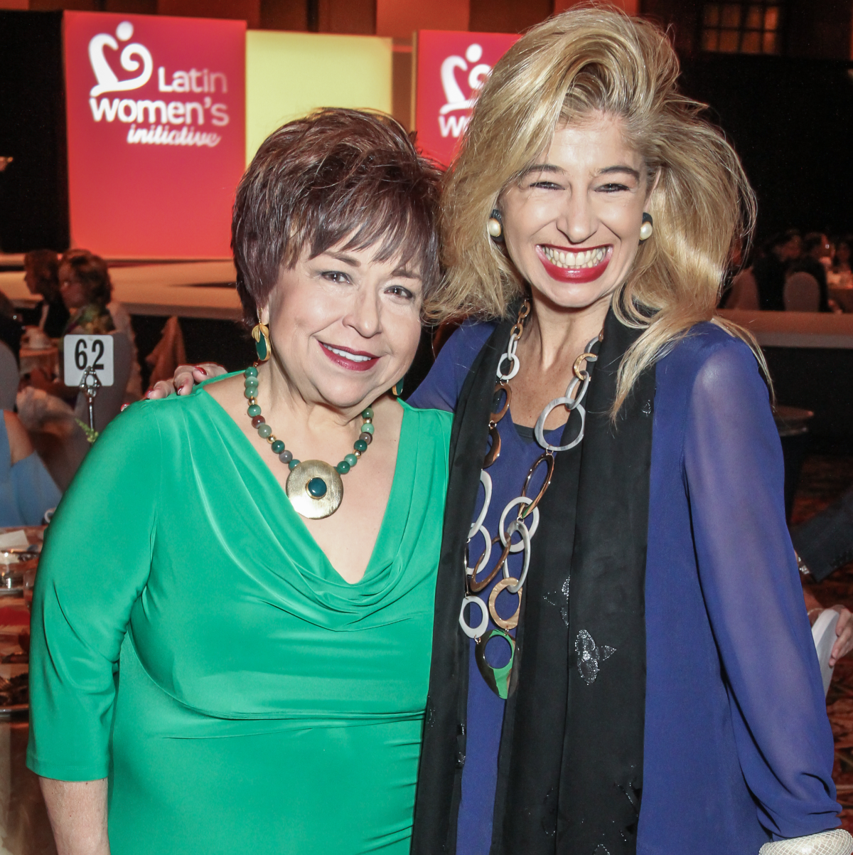Latin Women's Initiative Luncheon, Trini Mendenhall and Sofia Adrogue