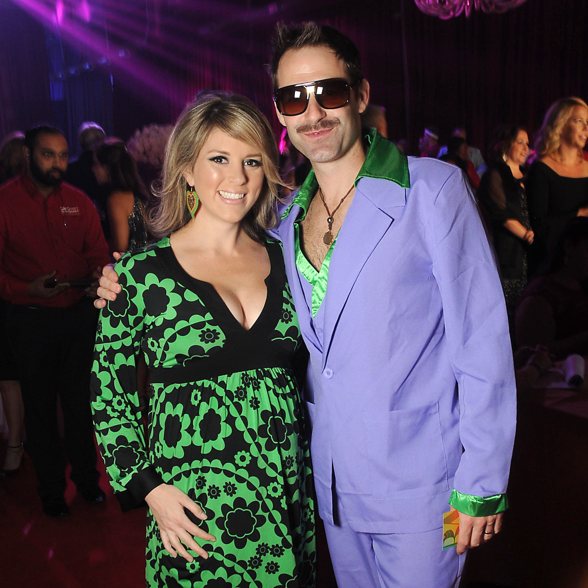 Valerie and Spencer Chase at the Alley Theatre Ball