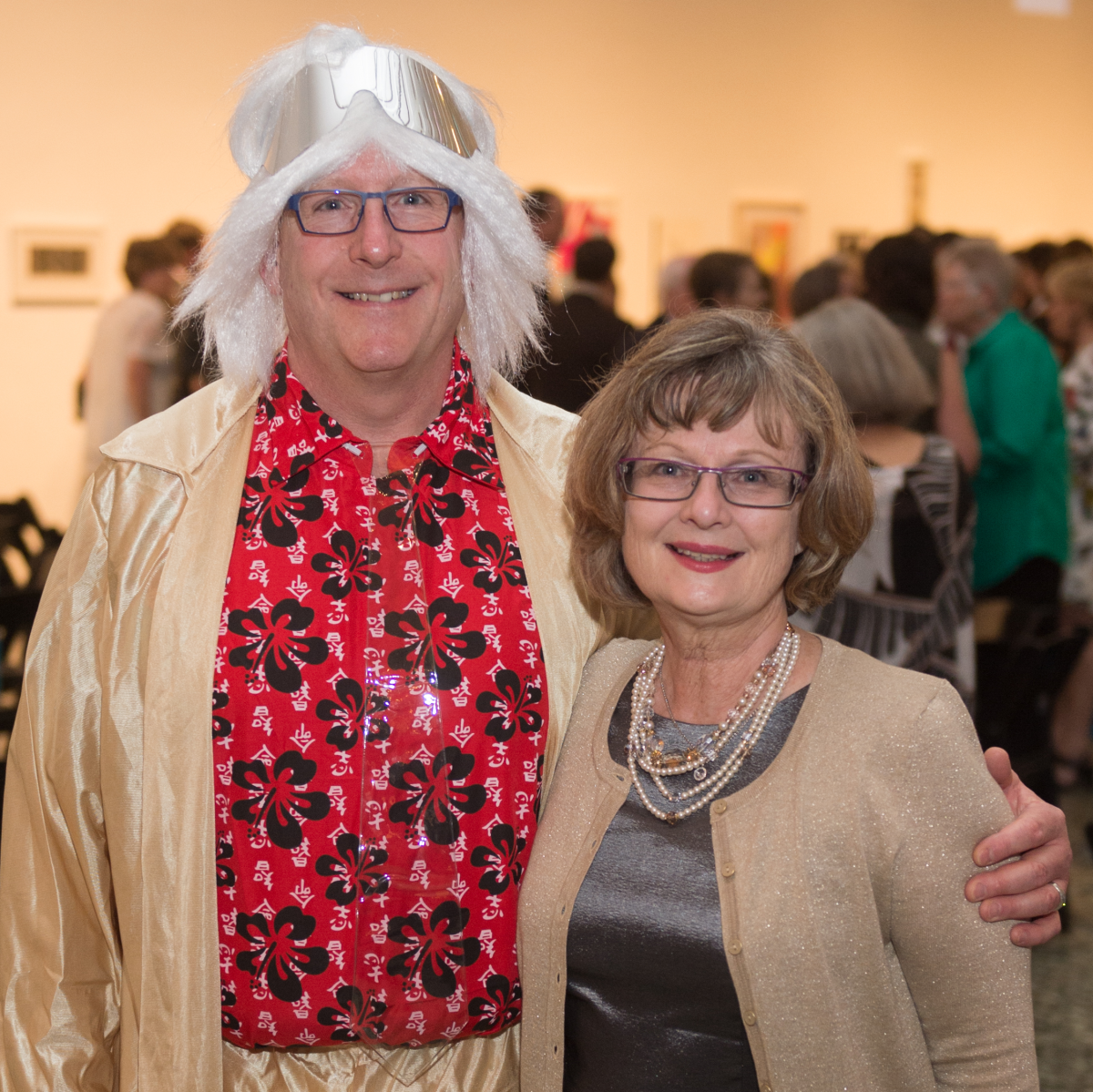 Richard Stang, Kimberly Watson at Glassell Benefit 2017