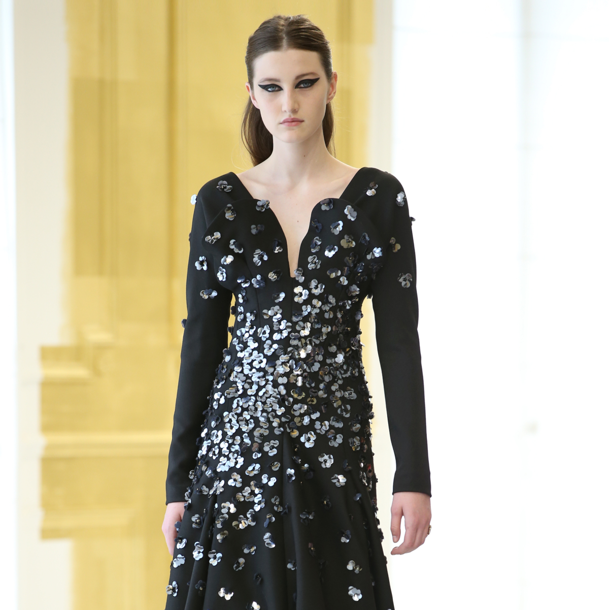 Dior haute couture runway show Paris finale look 39