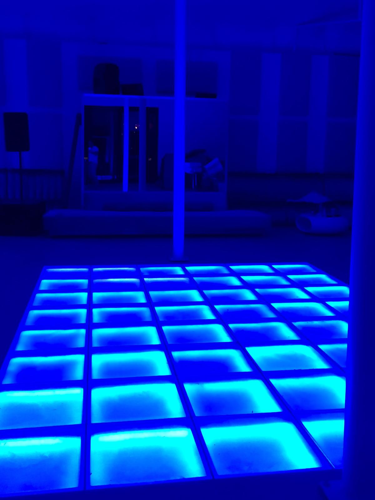 Houston, First Look at Bar Bleu, June 2016, dance floor