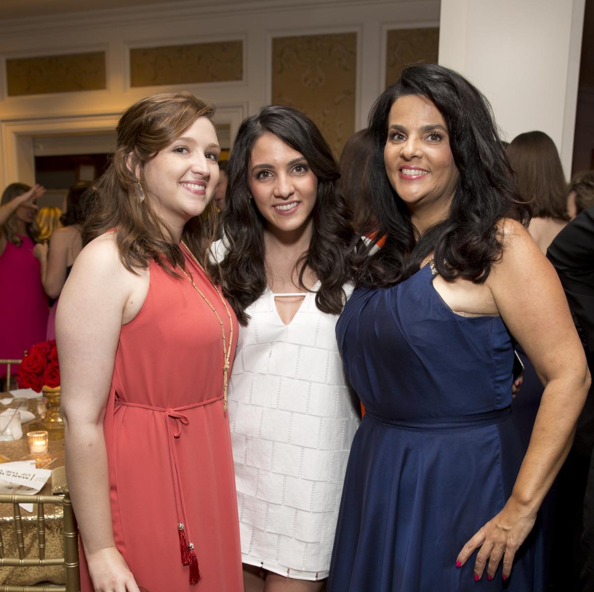 Leukemia & Lymphoma Society gala, 4/16, Chelsea Moriarty, Erica Moriarty, Inez Moriarty