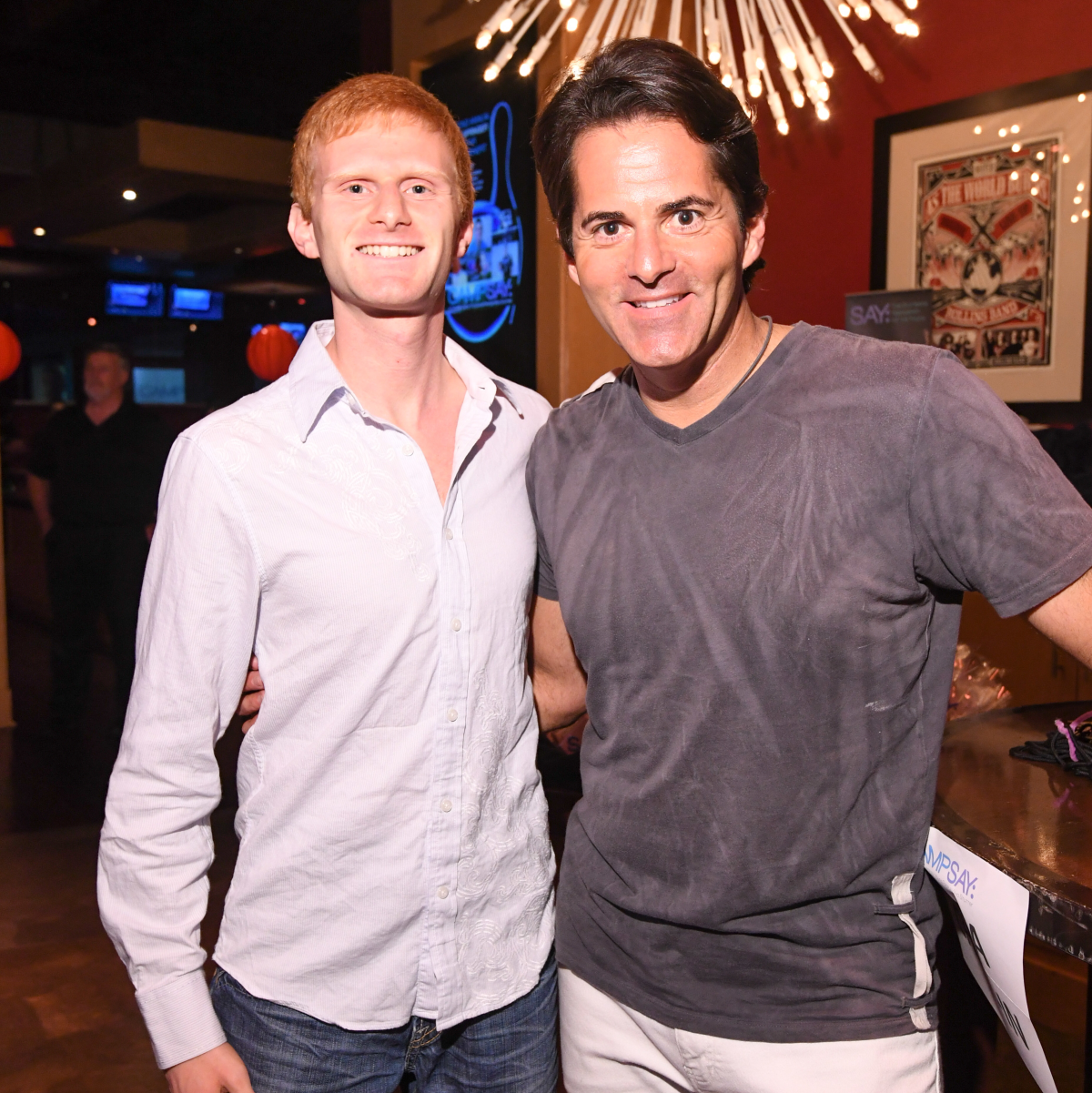 Houston, George Spring Bowling Event, June 2016, Justin Garfield, Michael Garfield
