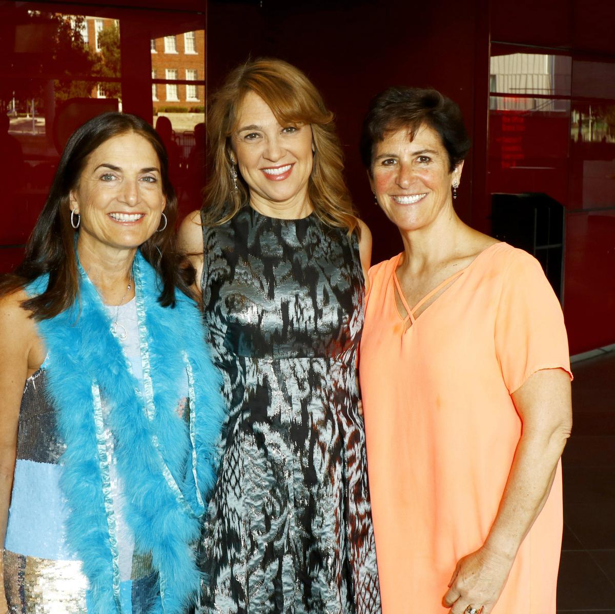 Board Chair Julie Hersh, Gala Chair Ann Mahowald, Co-Chair Melinda Johnson