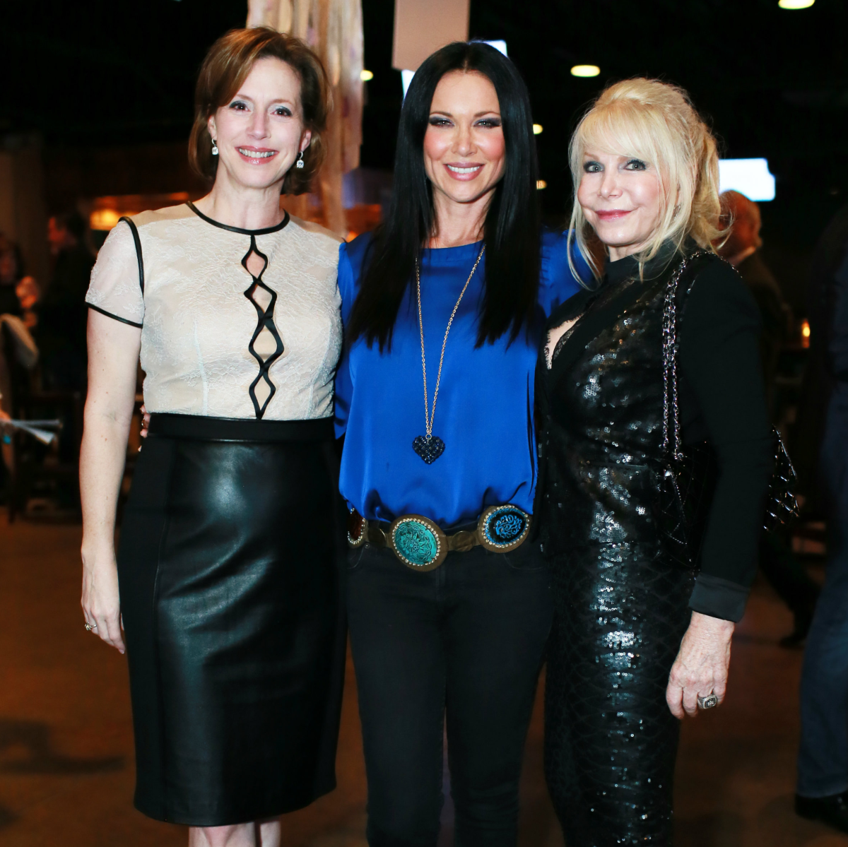 Laura Downing, LeeAnne Locken, Tricia Sims