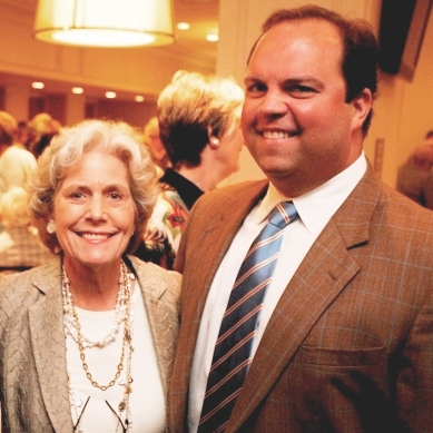 Houston, Menninger Clinic Annual Luncheon, May 2016, Beth Robertson, Miller Crosswell