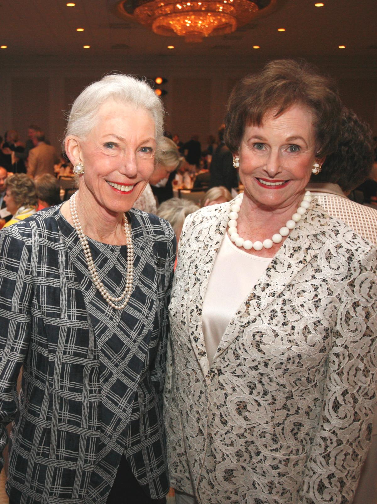 Houston, Menninger Clinic Annual Luncheon, May 2016, Lynda Underwood, Ann Trammell