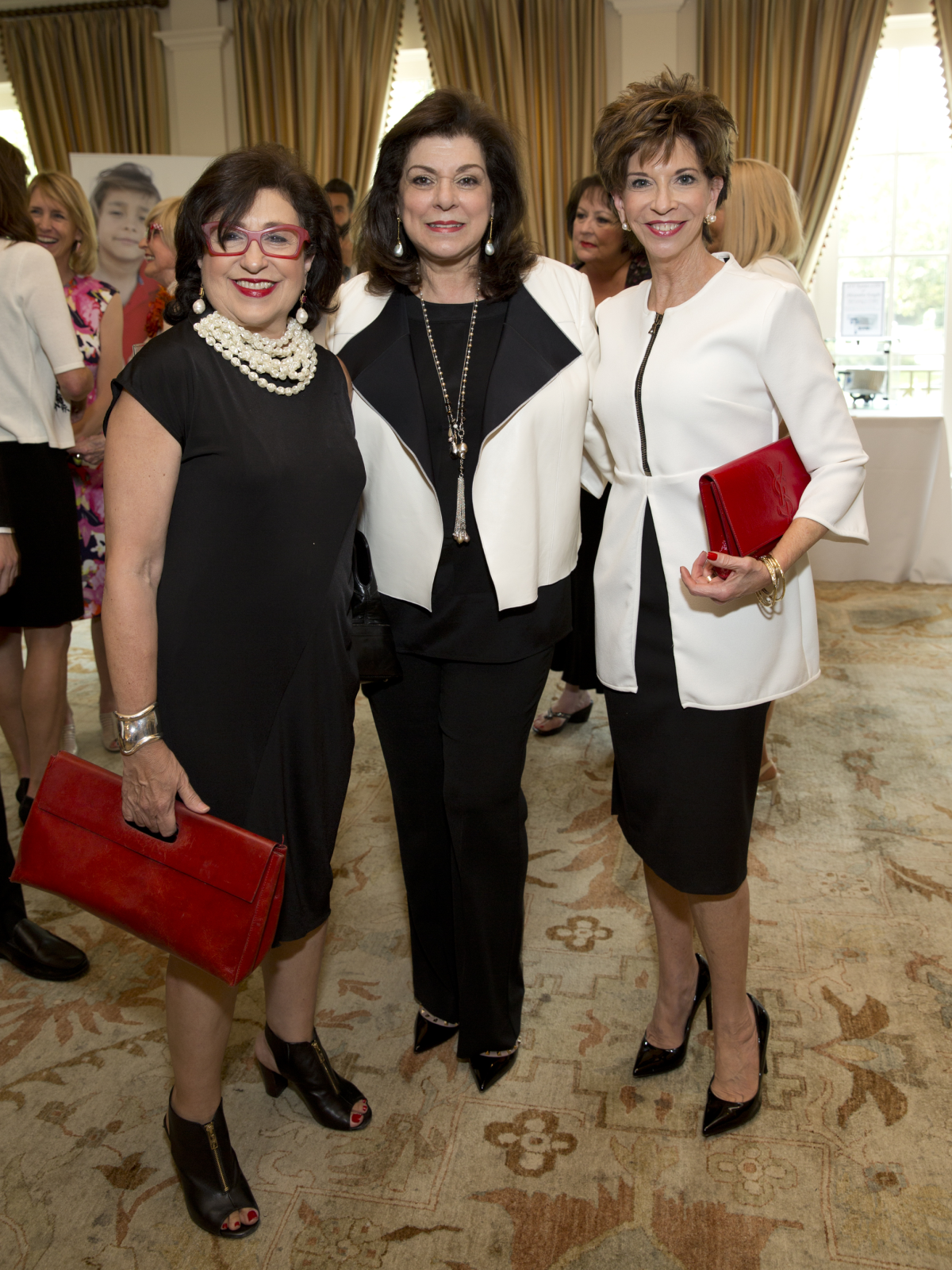 Houston, I Am Waters 5th Annual Supermodel Luncheon, May 2016, Roz Pactor, Rose Cullen, Viki Rizzo