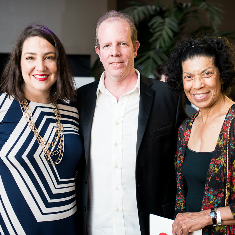 Catherine Cuellar, Paul Williams, Rosalyn Walker