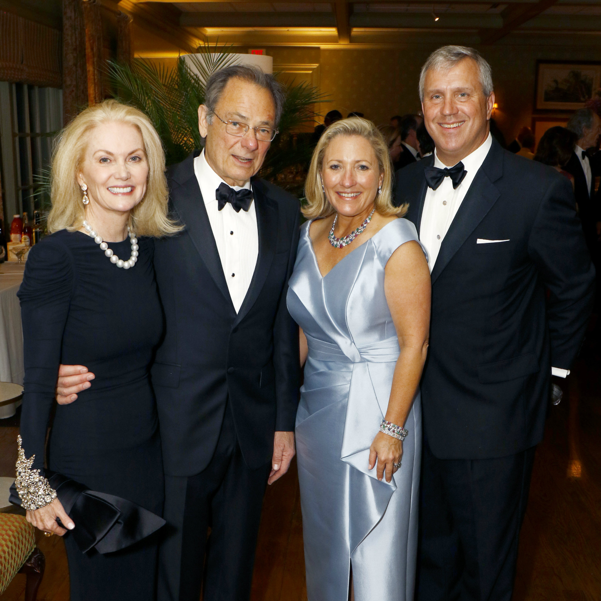 Nancy Cain Marcus & Tom Roush and Carolyn and Karl Rathjen