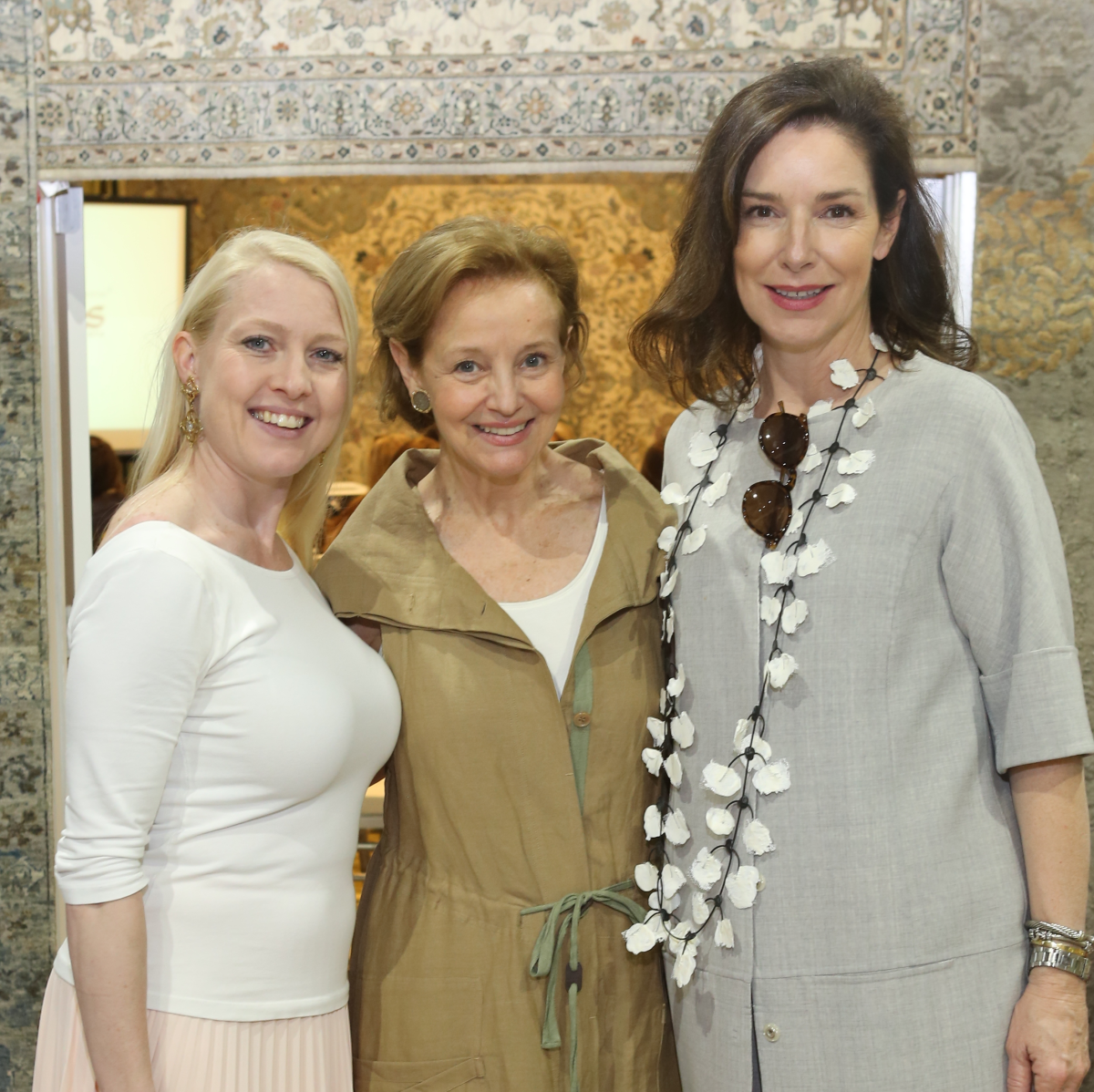 DCH Barry Dixon event, 4/2016, Misty Chambers, sandy Lucas, Suzanne Duin
