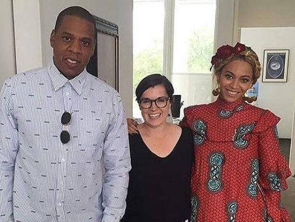 Jay-Z and Beyonce at the Menil, May 2016