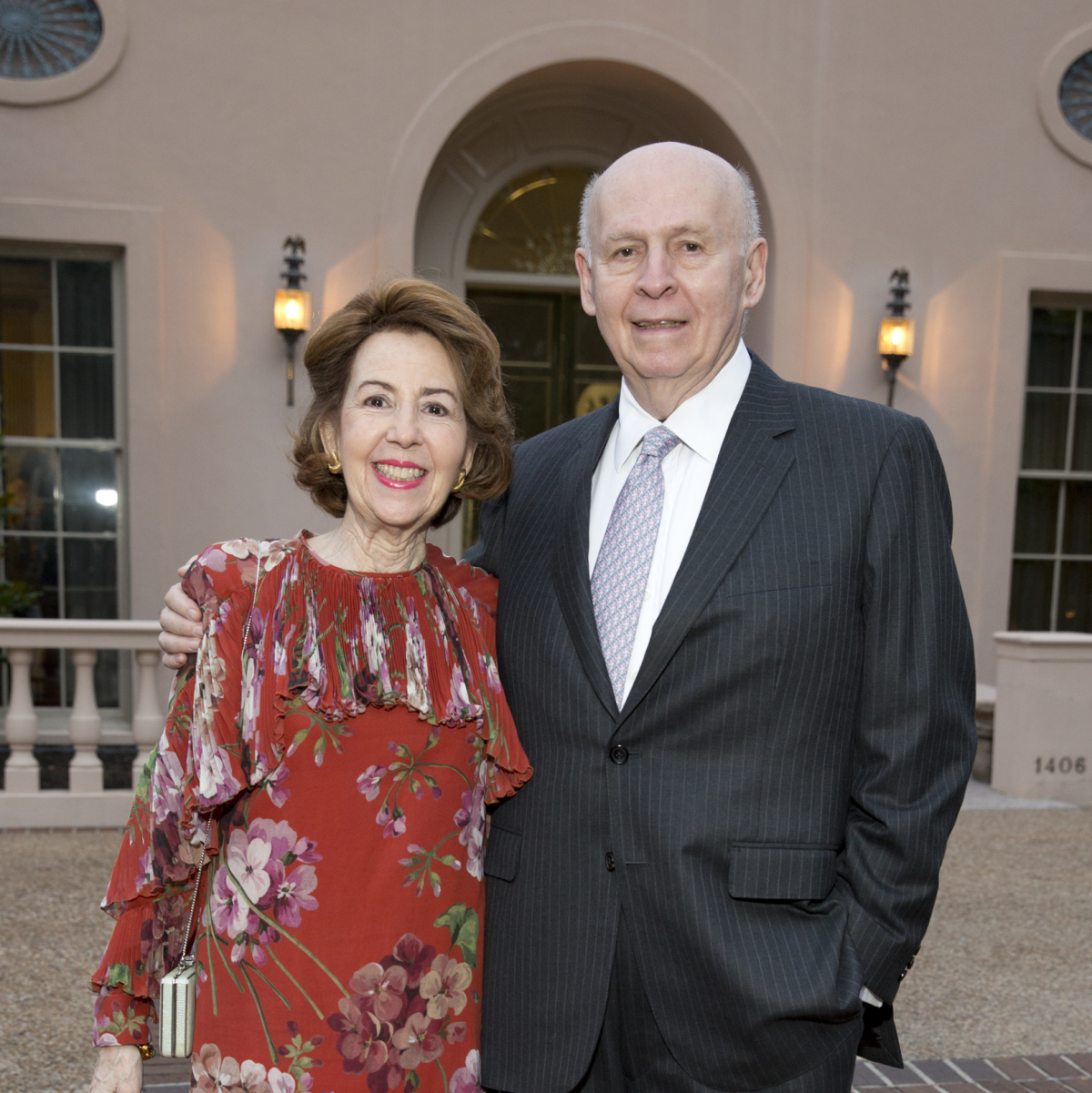 Rienzi Spring Party, 5/16 Gail Adler, Louis Adler