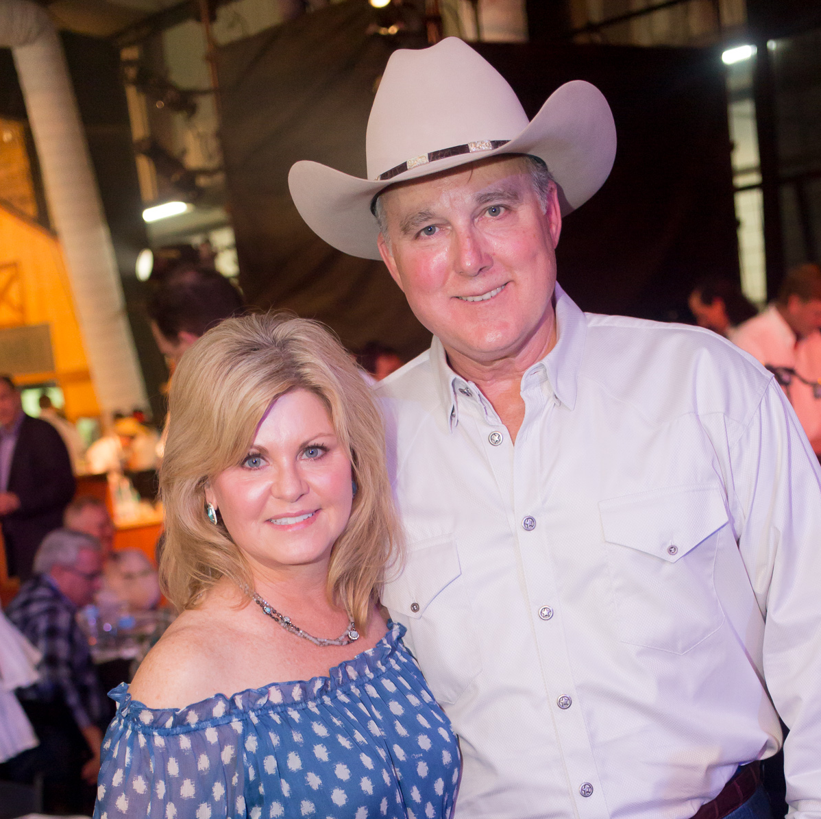 Cattle Baron's Ball, 4/2016 Jayne Harvey, Rick Harvey