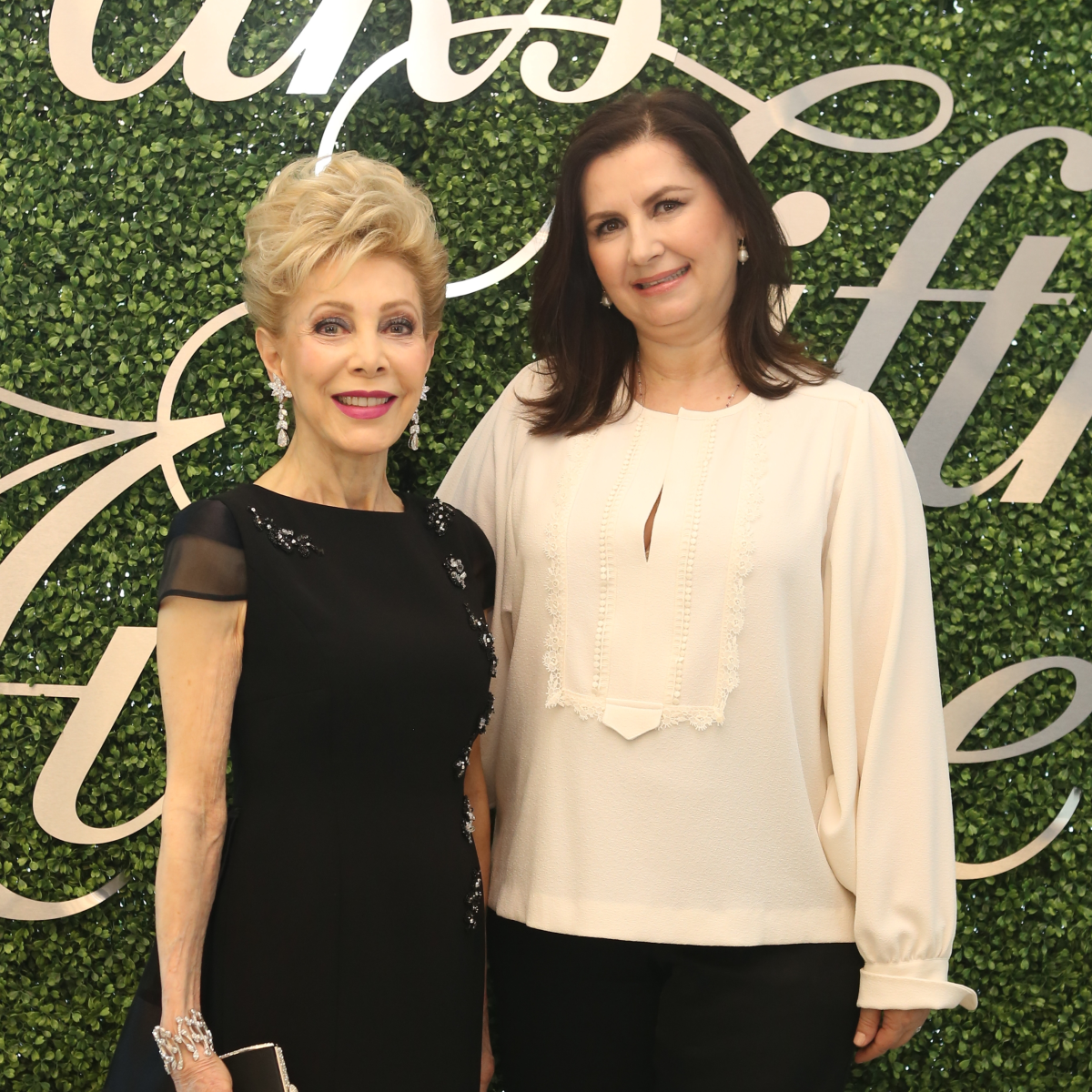 Saks MD Anderson benefit 4/16, Margaret Alkek Williams, Sylvia Forsythe