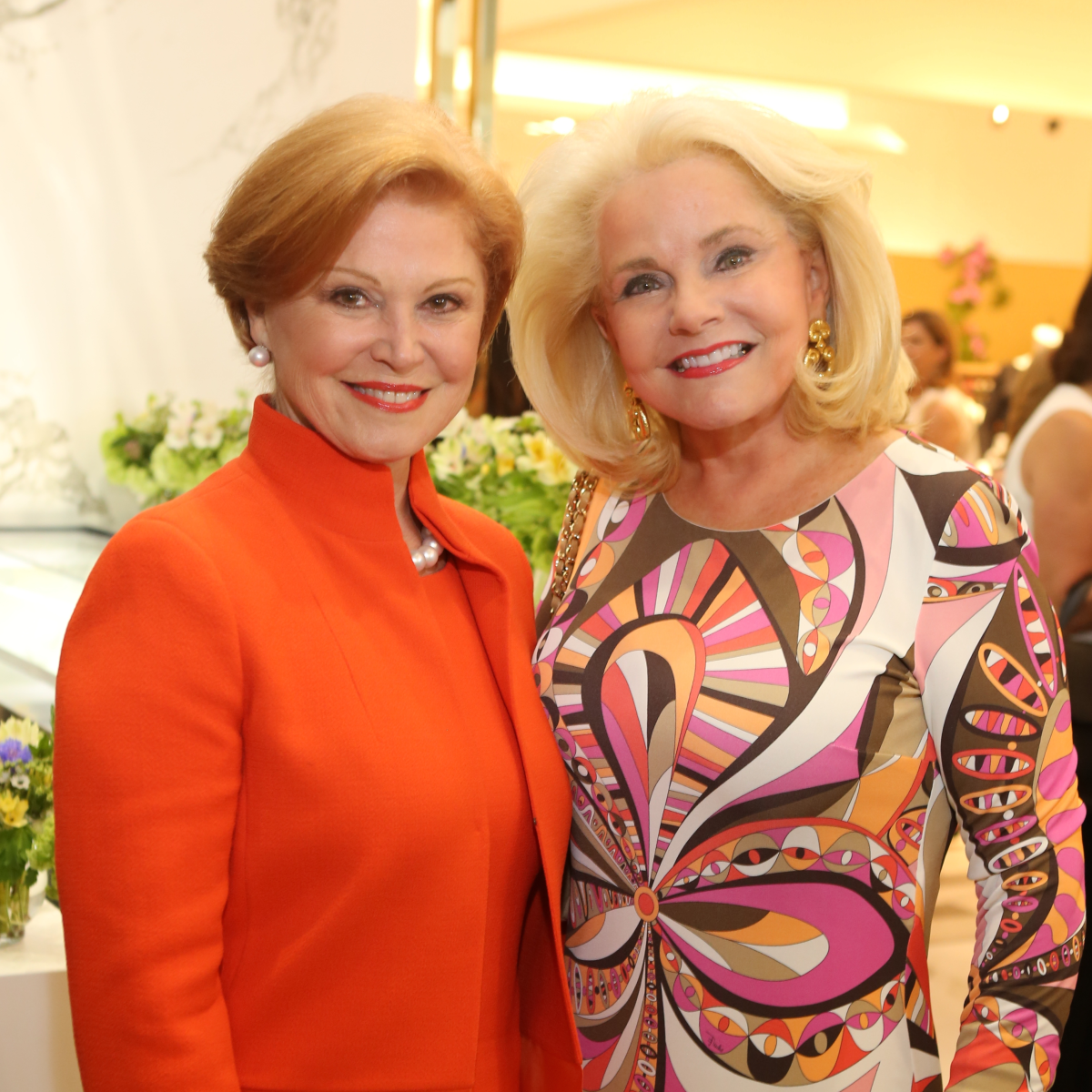 Saks MD Anderson benefit 4/16, Jan Duncan, Becky Cooke
