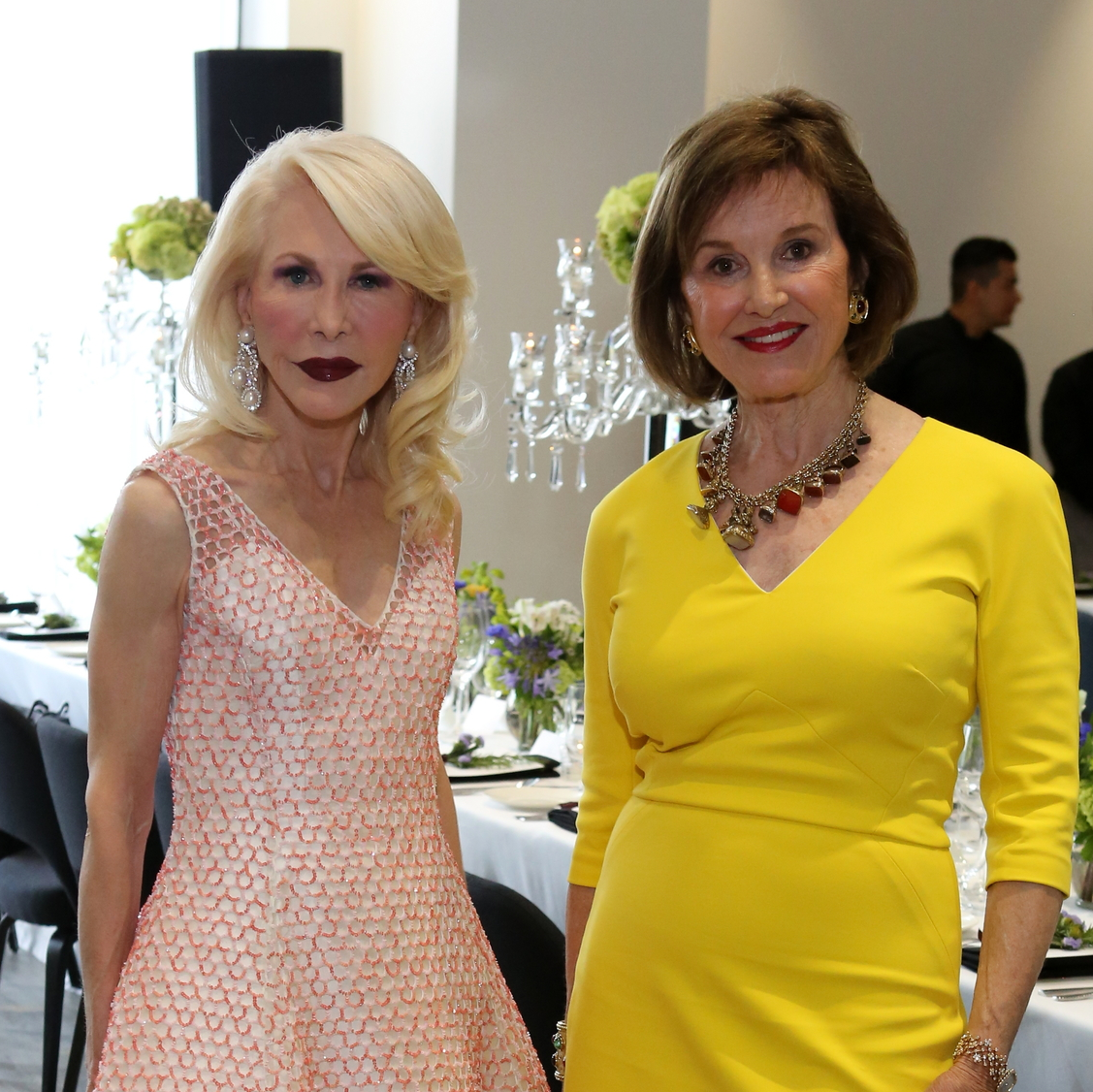 Saks Opening Dinner for HGO 4/16, Diane Lokey Farb, Donna Josey